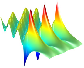 Surface plasmon polariton excitation in Kretschmann configuration